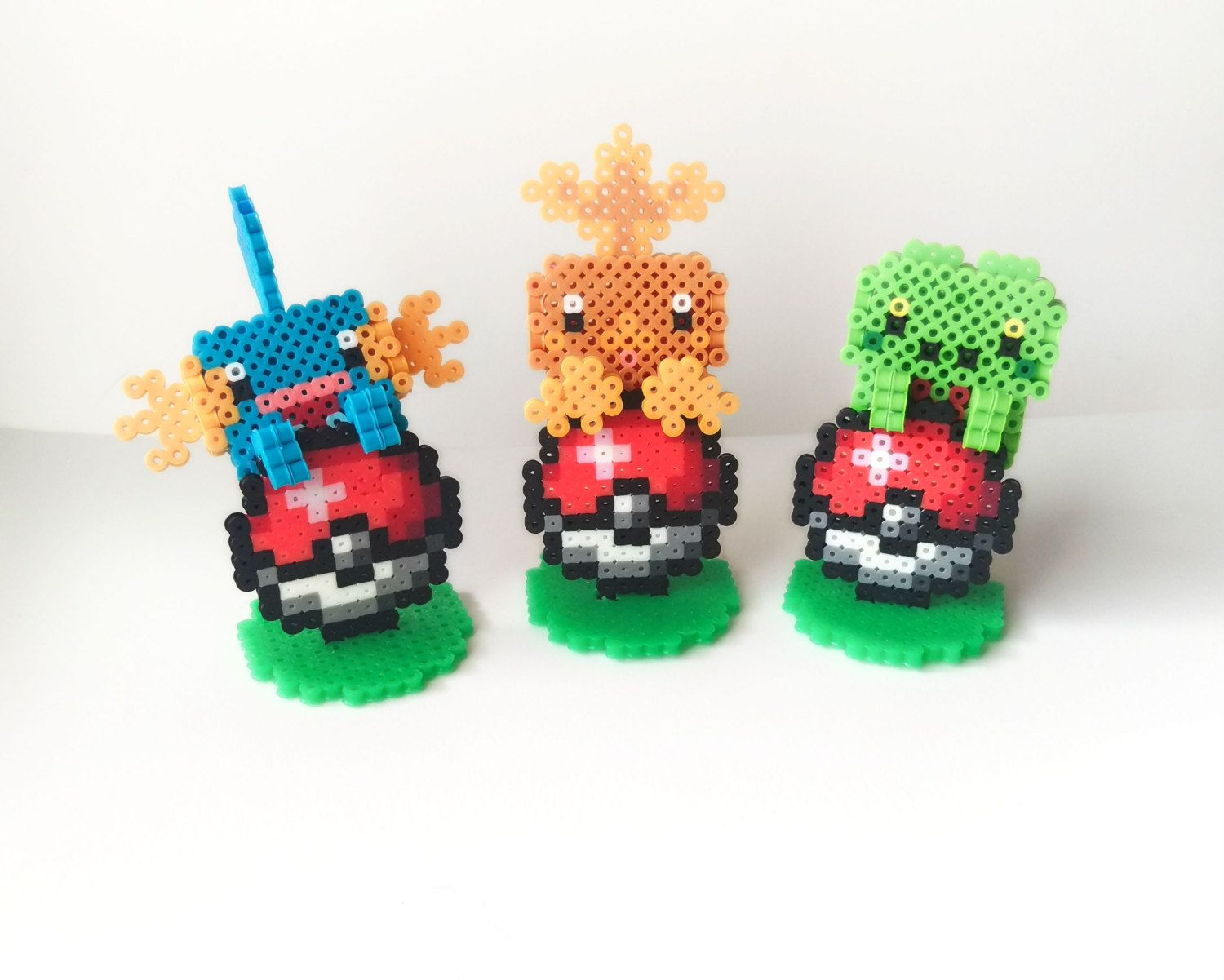 3d pokemon perler laptop - Google Search | Projects to Try