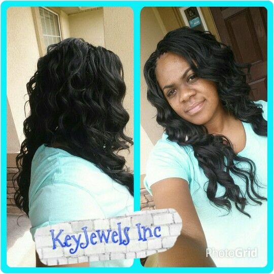 Kima Ocean Wave Crochet Hair Styles Curly Crochet Braids Braids With Weave