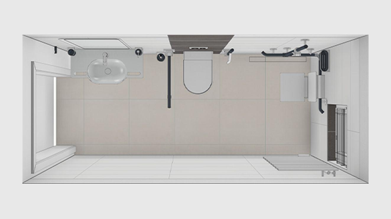 badplanung durch eine kontrastreiche farbige gestaltung wird die wahrnehmung erleichtert und. Black Bedroom Furniture Sets. Home Design Ideas