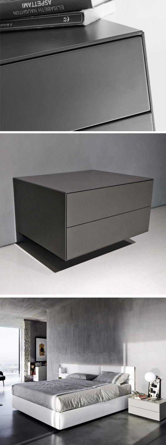 Livitalia Ecletto Nachttisch 2 Schubladen Nachttisch Schlafzimmer Innengestaltung Und Schubladen