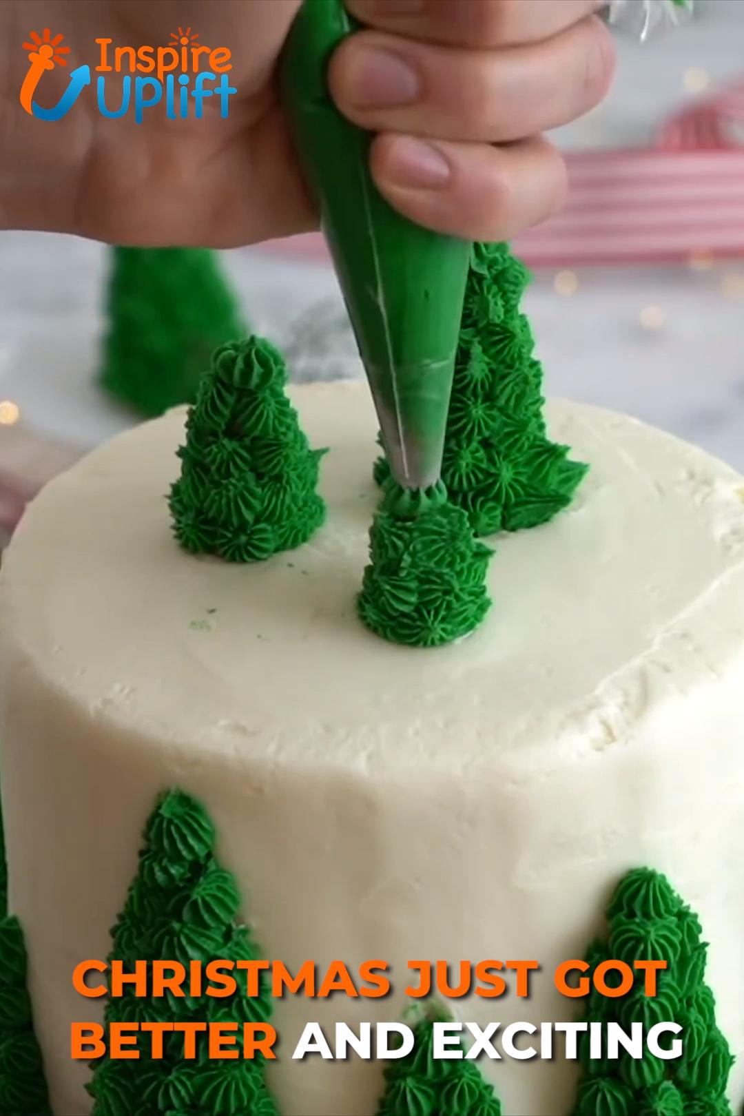 Photo of Icing Piping Tips Christmas Design 😍 InspireUplift.com