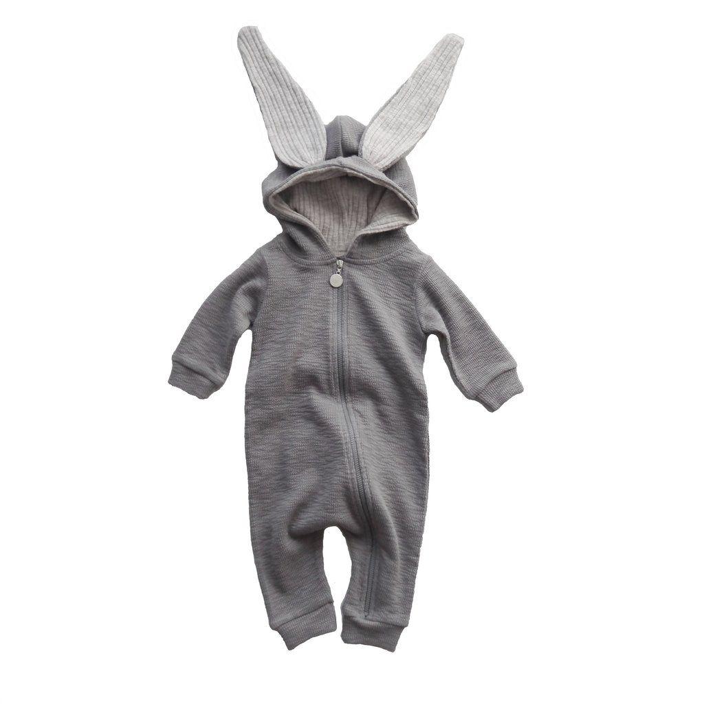 1a5485e2935 Fin baby one piece fra Lala i sød bunny / kanin model. Brug kanin dragten