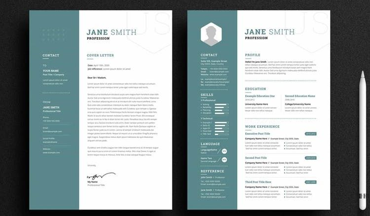 The 100 Indesign Resume Templates You Need In 2020 In 2020 Indesign Resume Template Cv Template Free Free Indesign Resume Template