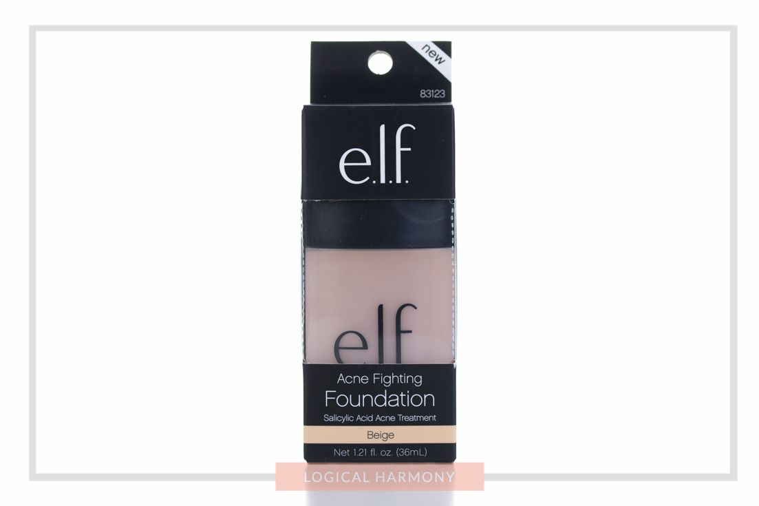 ELF Acne Fighting Foundation Review & Demo