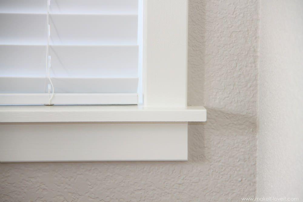 Types Interior Window Trim Ideas Interior Window Trim Interior Windows Interior Window Sill