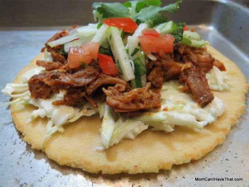 Pulled Pork Soft Tacos With Sesame Slaw | Low Carb Maven