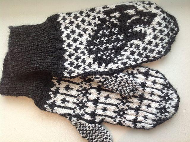 Ravelry: Direwolf Mittens pattern by Carly Hill | Knit | Pinterest