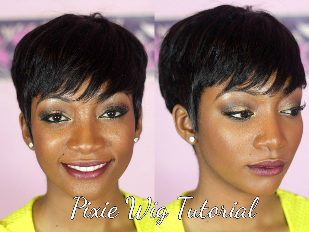 Duby Hair Weave Styles: How To Make A Pixie Wig---I Love Pixie Cuts But I