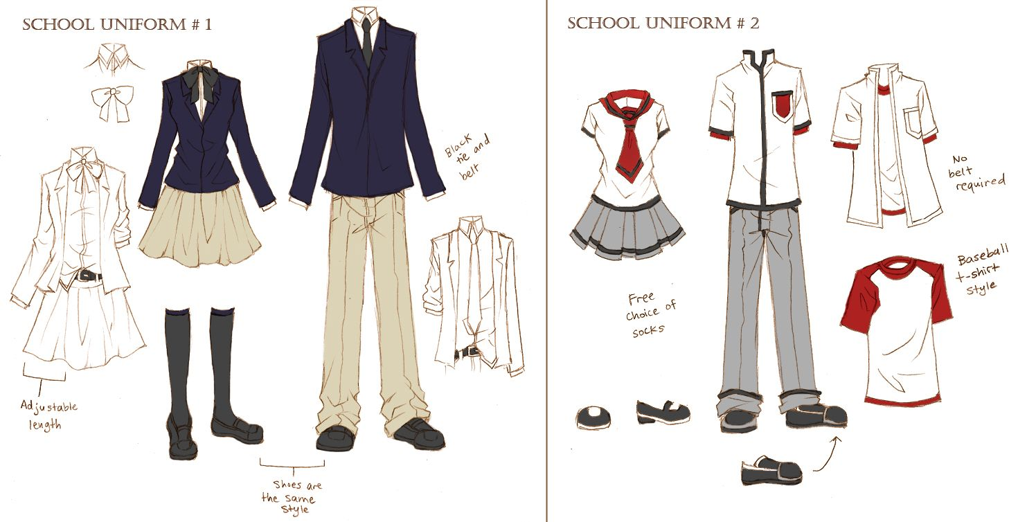 cute anime school uniforms Bing Images School girl