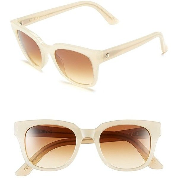 Women's Electric '40Five' 50Mm Retro Sunglasses ($175) ❤ liked on Polyvore featuring accessories, eyewear, sunglasses, square glasses, retro sunglasses, tortoise shell sunglasses, electric eyewear and tortoiseshell sunglasses