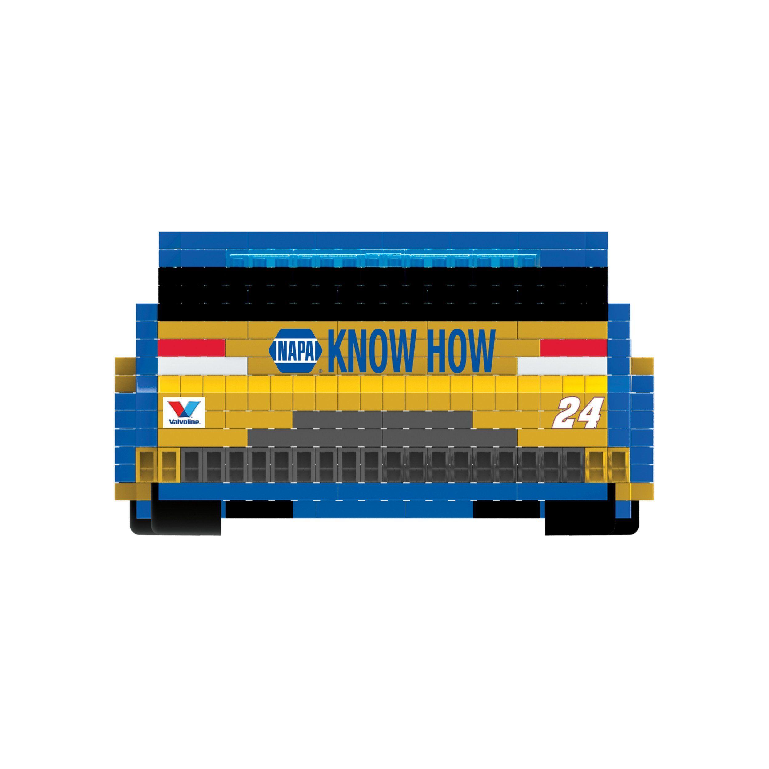 Chase Elliot 24 Car BRXLZ NASCAR 3D Puzzle Set