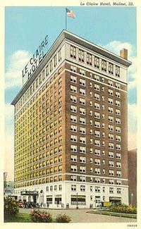Leclaire Hotel Landmark In The Town Where I Grew Up Moline Il