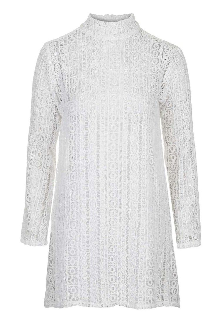 Topshop - **Borg Crochet Lace Dress by Absence Of Colour