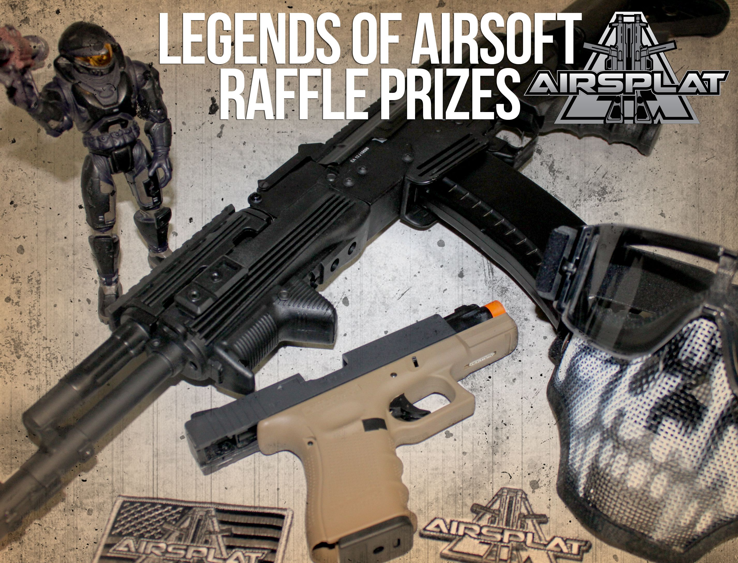 Préférence AIRSPLAT RAFFLE PRIZES @ The Legends of Airsoft Event! APS PMC  HK12