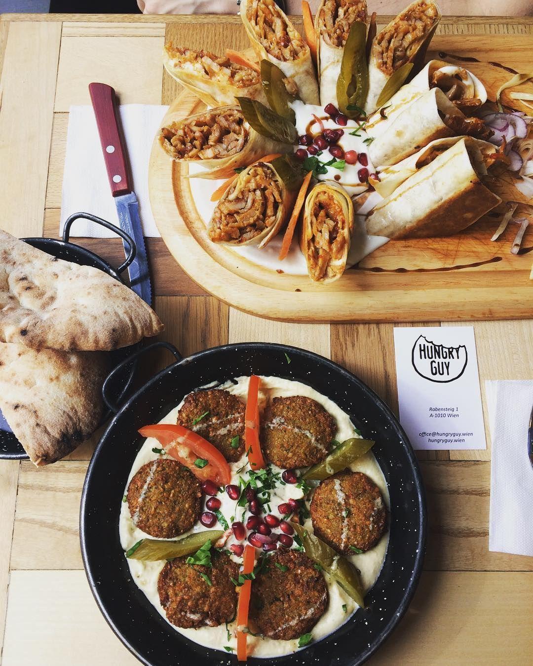 Kostlicher Hummus Und Gute Falafel Im Hungry Guy Wien 1000things At Lebensmittel Essen Orientalische Kuche Mittagessen