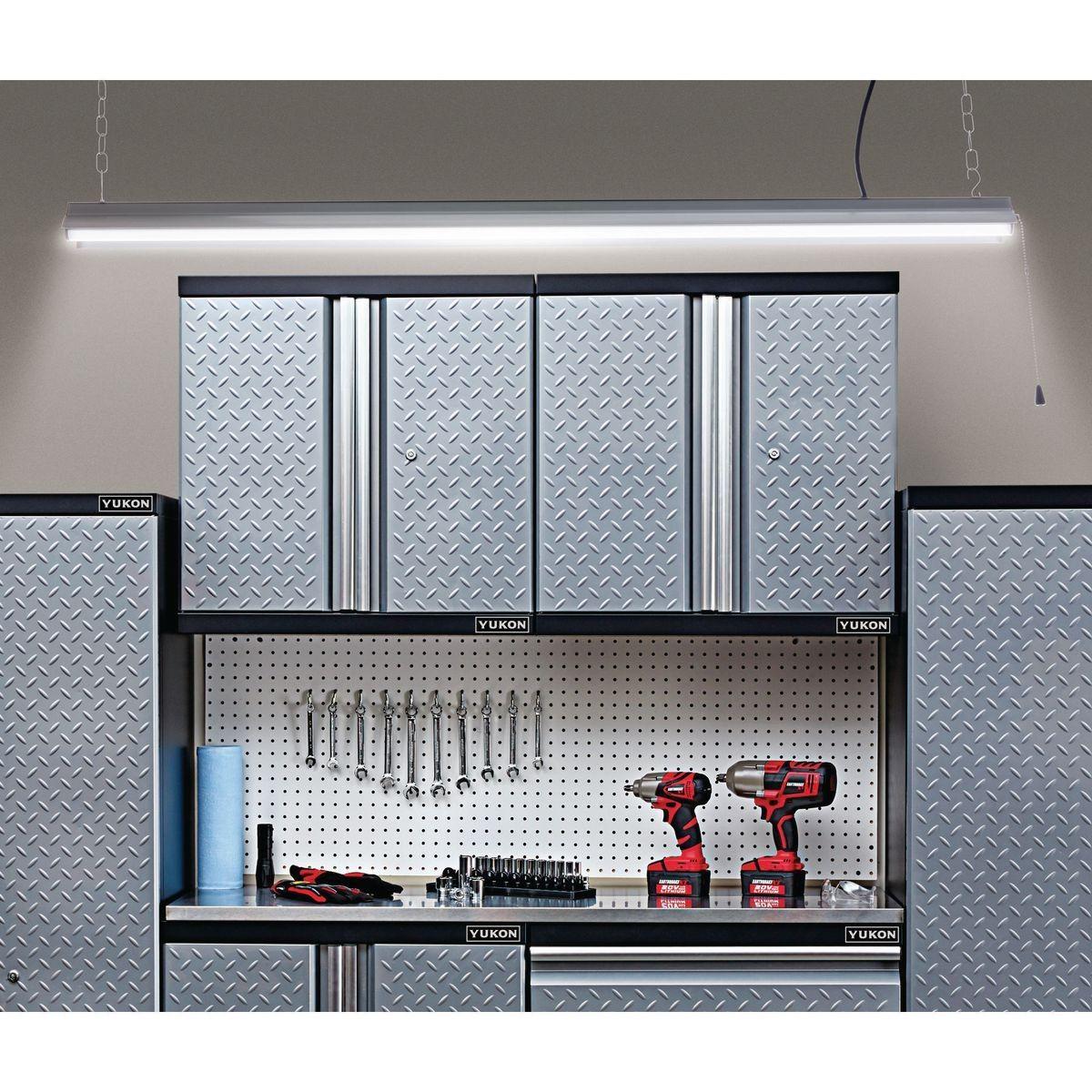 Get A 5 Star Rated Led Hanging Shop Light For 19 99 Shop Lighting Led Shop Lights Wood Diy