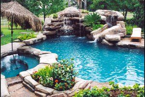 Install a Fiberglass Pool Inground pool designs, Dream