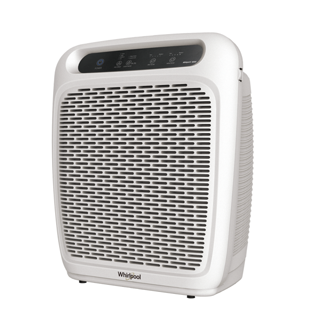 Whirlpool WP1000 Whispure Air Purifier Pearl White (With