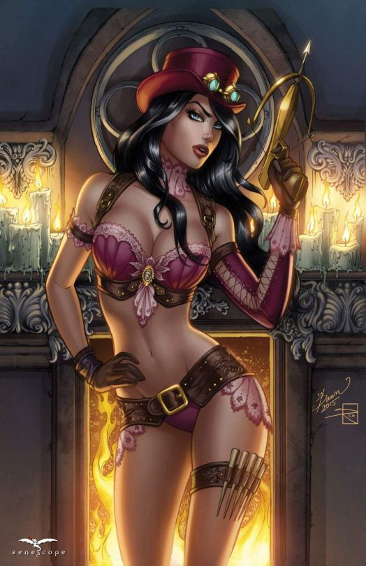 Erotic naked female fantasy art