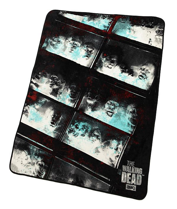 Walking Dead Throw Blankets Best Walking Dead Fish Tank Fleece Blanket  Fish Tanks Walking Dead And Design Ideas