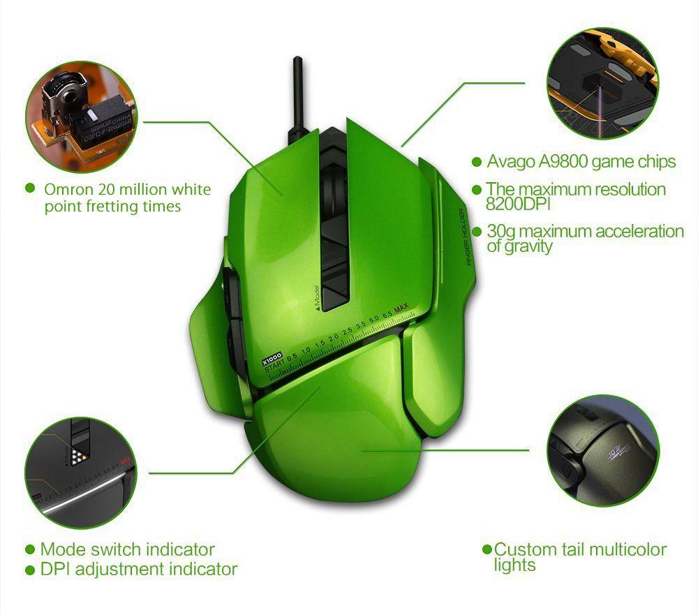 Jamesdonkey 007 8200dpi Diy Optical Usb Wired Gaming Mouse Mice For Wiring Diagram Pc Laptop