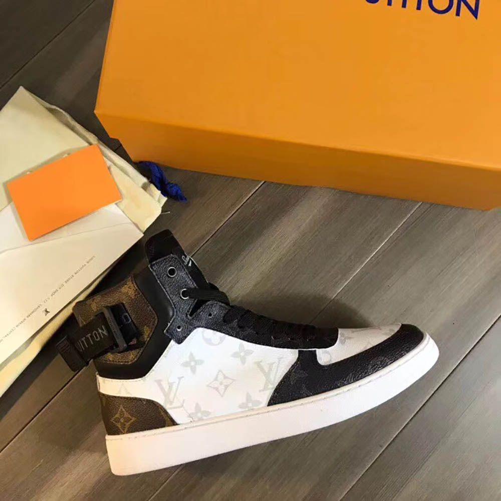 a2be463f41f Louis Vuitton Rivoli Sneaker Boot 1A44VV | Louis vuitton in 2019 ...