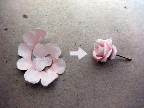 Photo of Wie man Rosenpapierblume macht | Einfache Origami-Blumen für Anfänger DIY-Papier Handwerk