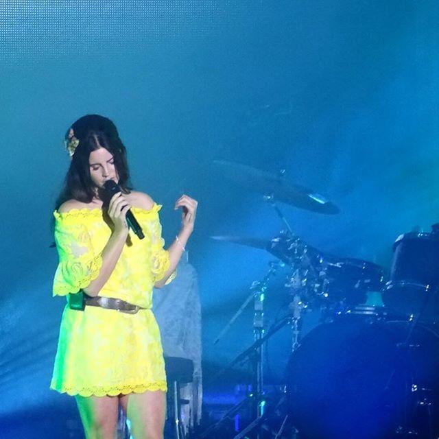 Lana performing at 'Osheaga Festival' in Montreal, Canada