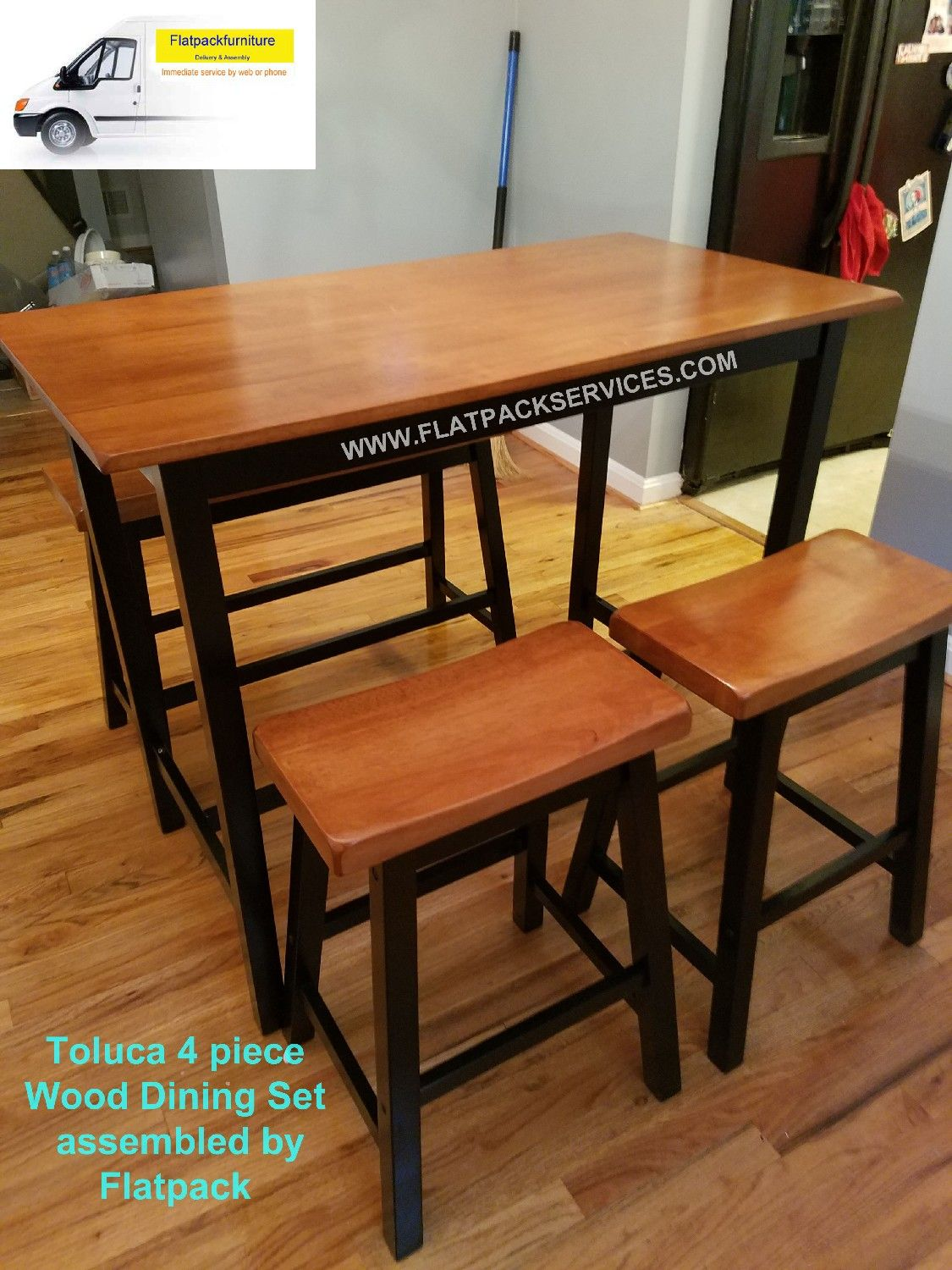 Dining set assembly in washington dc and clinton md furniture assembly in washington dc
