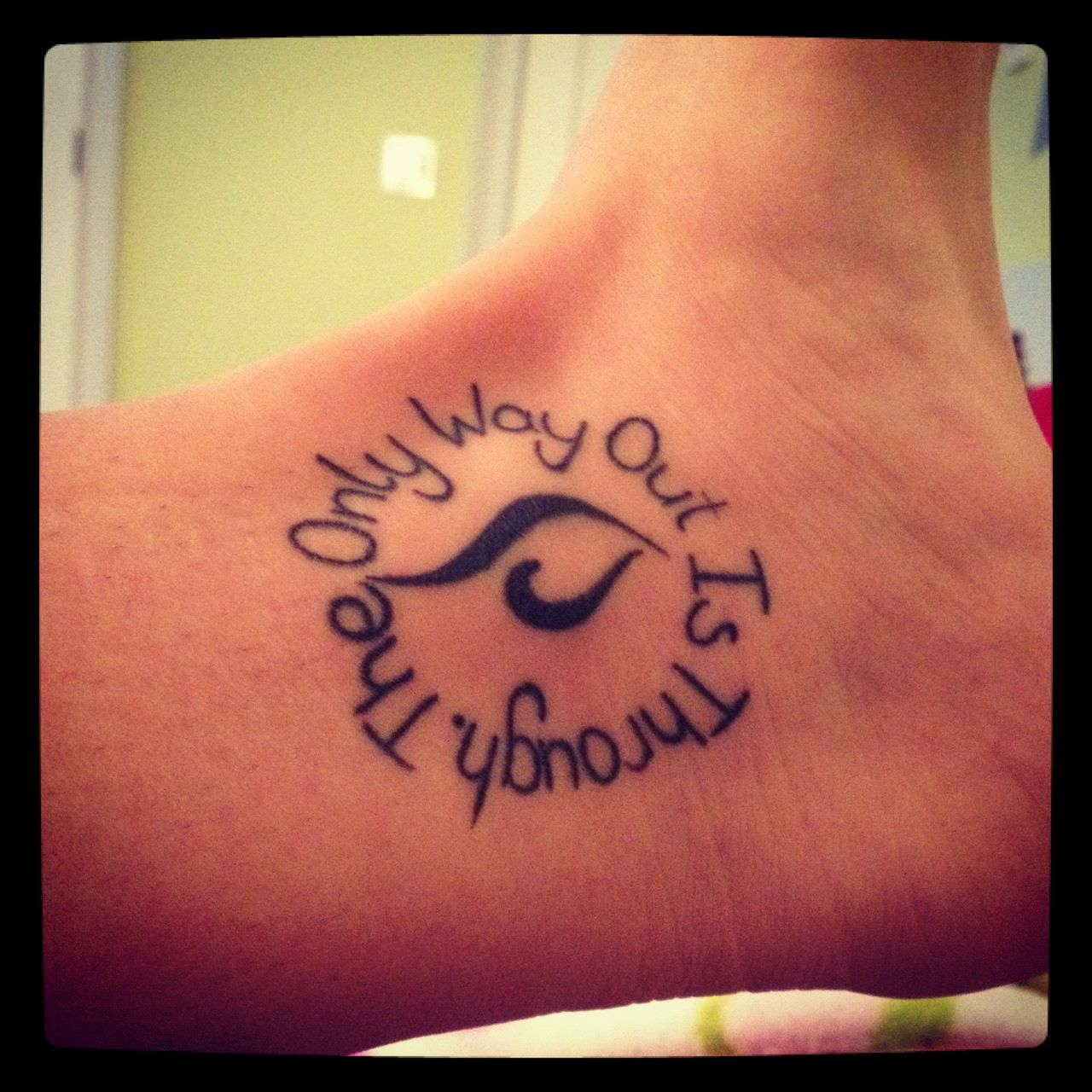 My Recovery Tattoo. 1 Year Ladies And Gents. 4/19/11