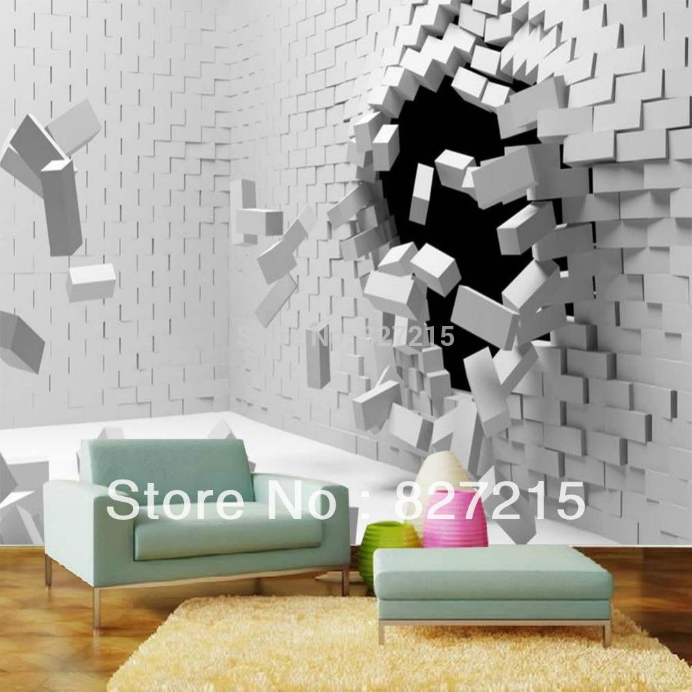Goedkope Custom 3d muurschildering behang Europese stijl 3D ...