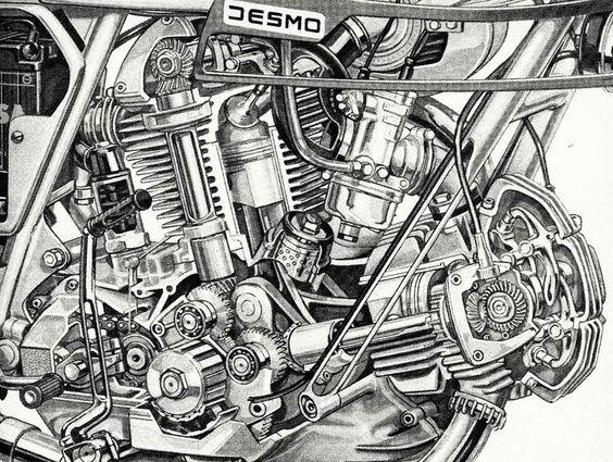 87b0ba792d5d9d8f402e99dbac6d616a Jpg 564 425 Motorcycle Drawing Ducati Ducati Motorcycles