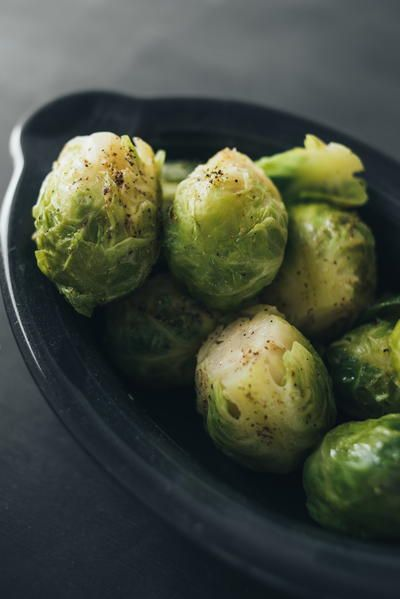 Boiled Brussels Sprouts | Learn how to cook Brussels sprouts for your Thanksgiving or holiday feast.