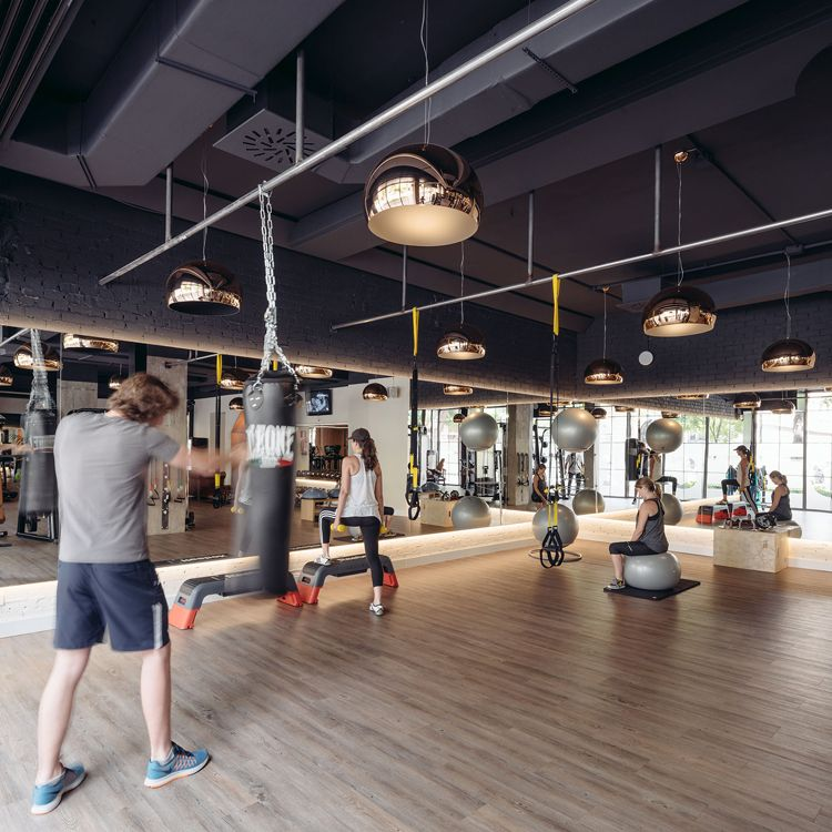 Gym Interior Fitness Design And: Club-xii-boutique-gym-in-madrid-by-i-arquitectura-3