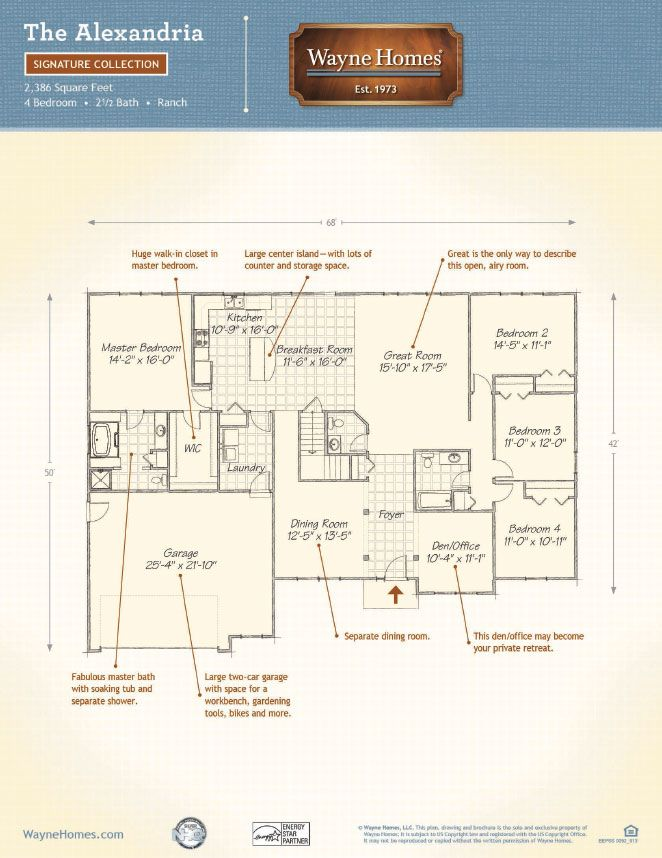 wayne homes house plans
