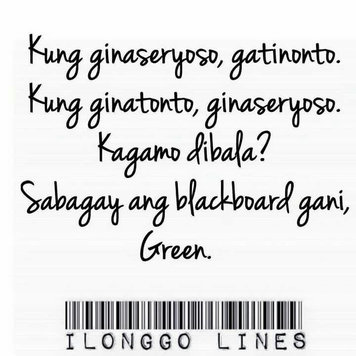 Pin on Ilonggo Lines Lang Ah