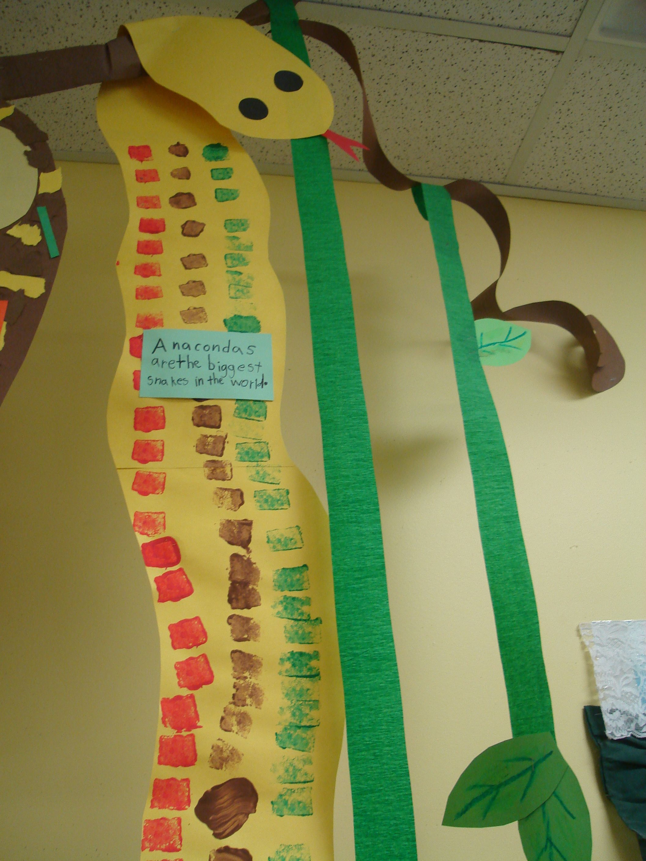 Cute Idea For A Large Group Split Up And Each Group Researches An Animal To Create And Write