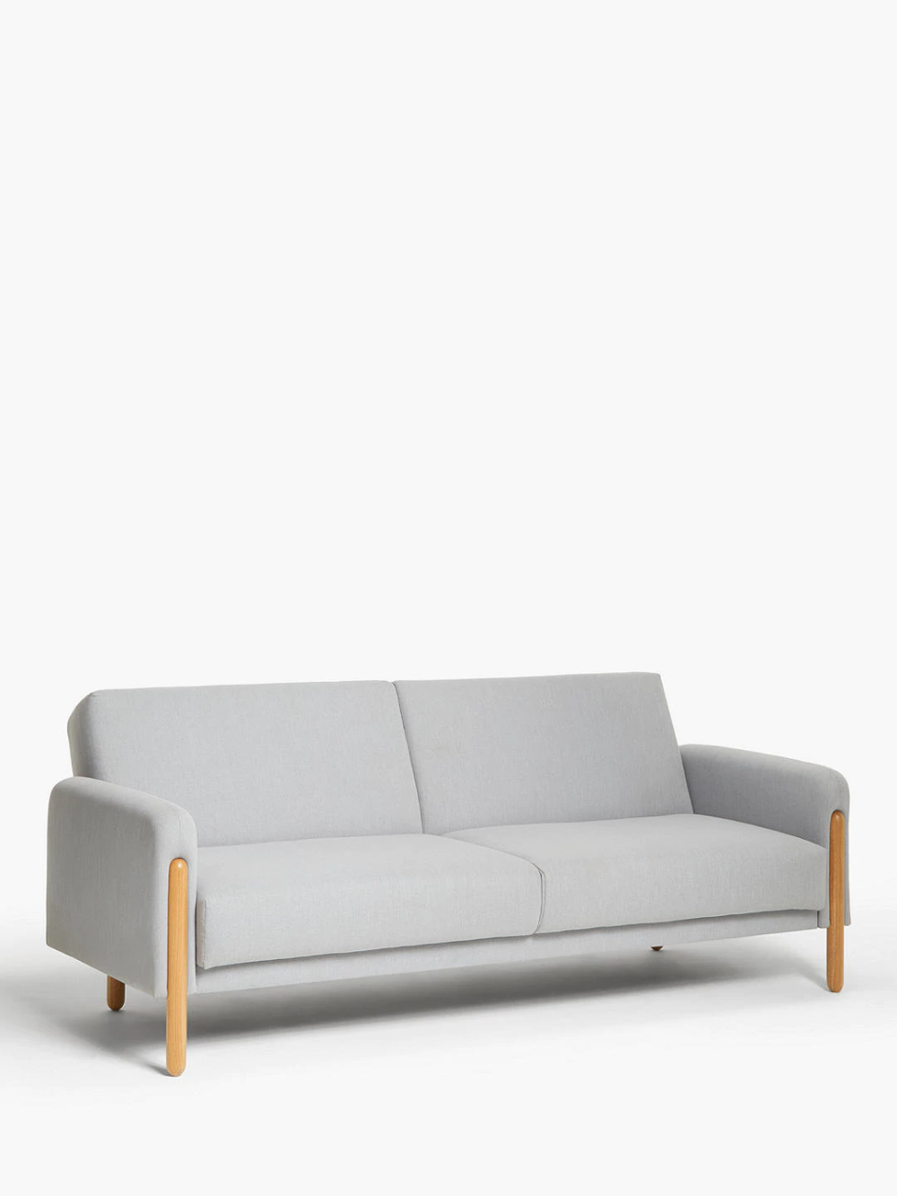 House By John Lewis Show Wood Sofa Bed Light Leg Topaz Light Grey Wood Sofa House By John Lewis Sofa Bed