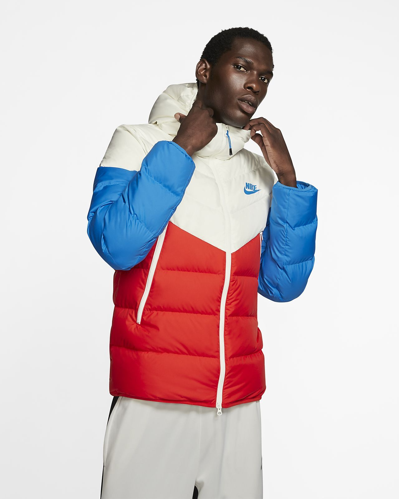 Hooded jacket men, Nike clothes mens