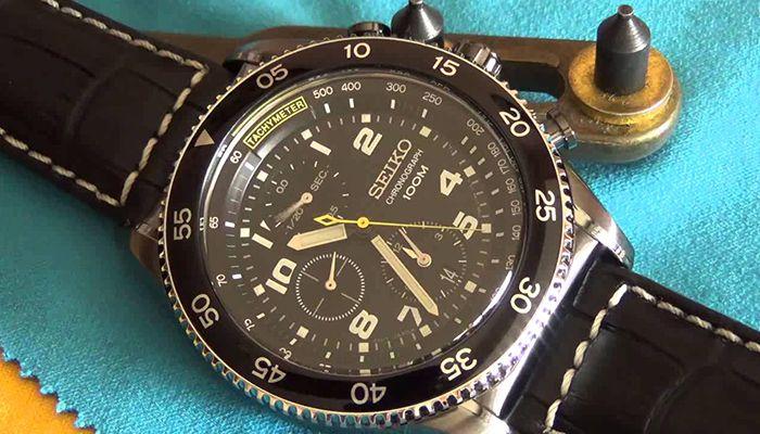 Đồng hồ seiko chronograph 100m