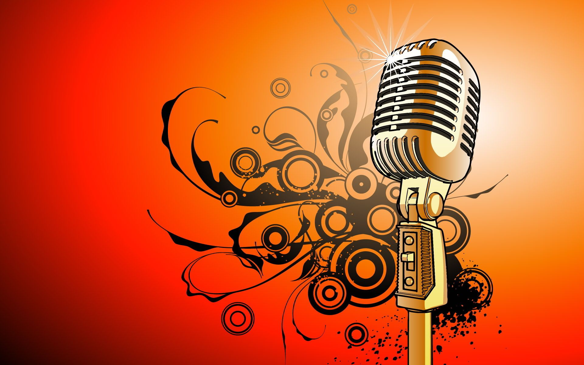 Music vector art colorful wallpaper free download png - Microphone Vector Art Wallpapers Pictures Free Wallpaper Backgroundsmusic