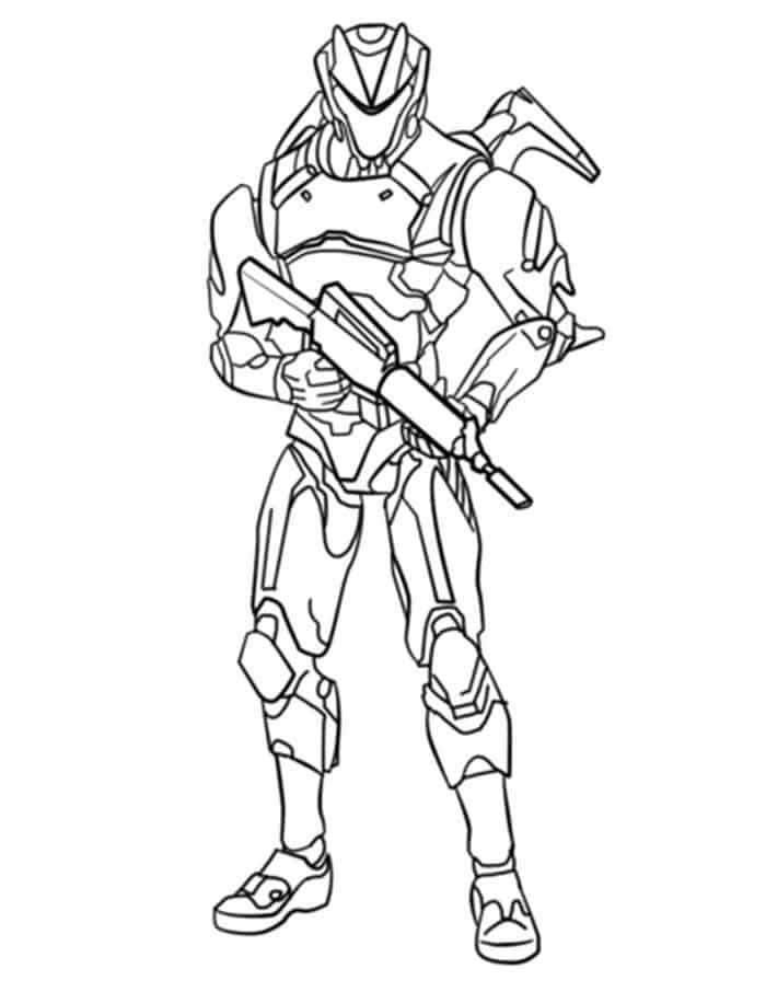 Fortnite Coloring Pages Printable Cartoon Coloring Pages