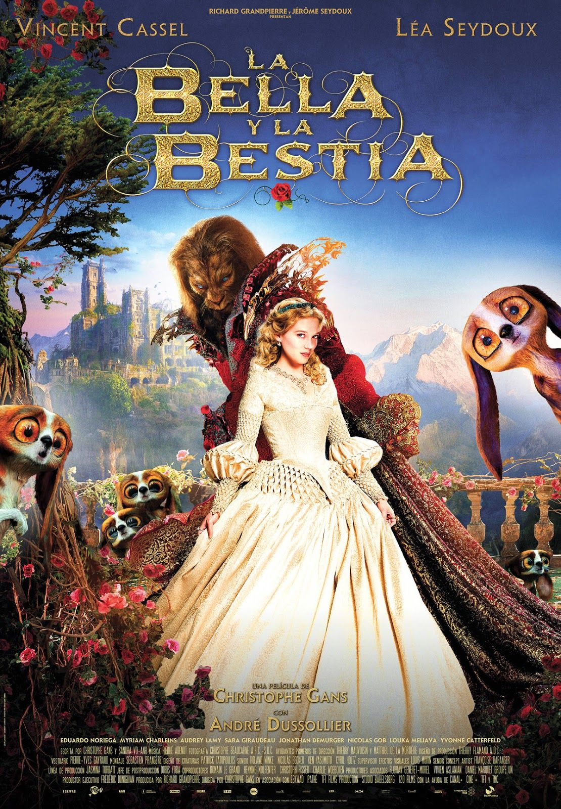 Ver La Belle Et La Bête La Bella Y La Bestia 2014 Online
