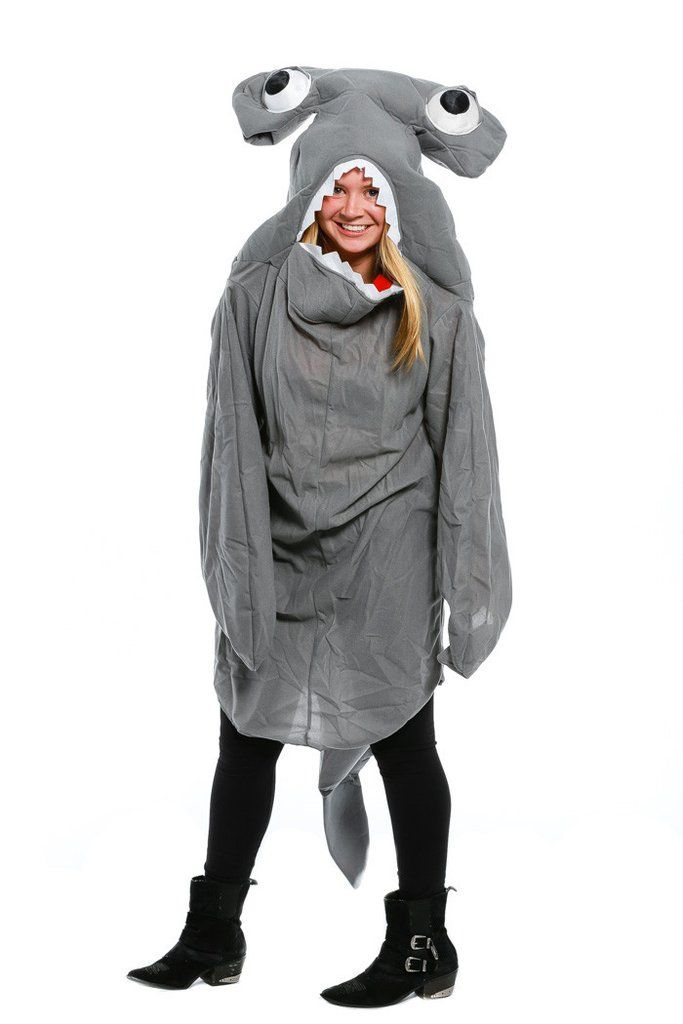 Womenu0027s Hammerhead Shark Halloween Costume For Sale  sc 1 st  Pinterest & Womenu0027s Hammerhead Shark Halloween Costume For Sale | Halloween by ...