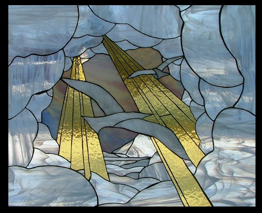 Tunnel In The Clouds By Marcryser On Deviantart Stained Glass