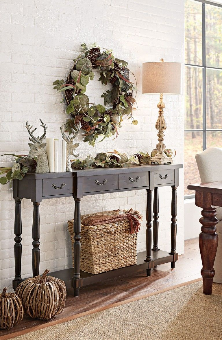 20 best entryway table ideas to greet guests in style on favorite diy fall decorating ideas add life to your home id=17873