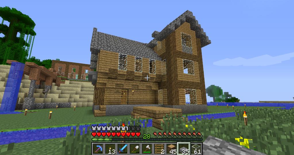 Minecraft House Blueprints Xbox 360 Interesting living room list of things House Designer