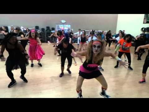 Monster Mash Halloween Warm Up By Karina Dugand Youtube Monster Mash Warmup Healthy Exercise
