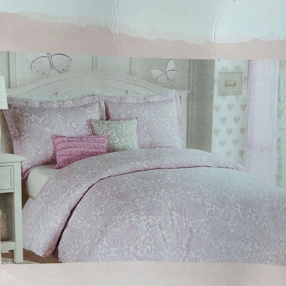 Nicole Miller Comforter Set Paisley Kids S Ager Children Bedding New Nicolemiller