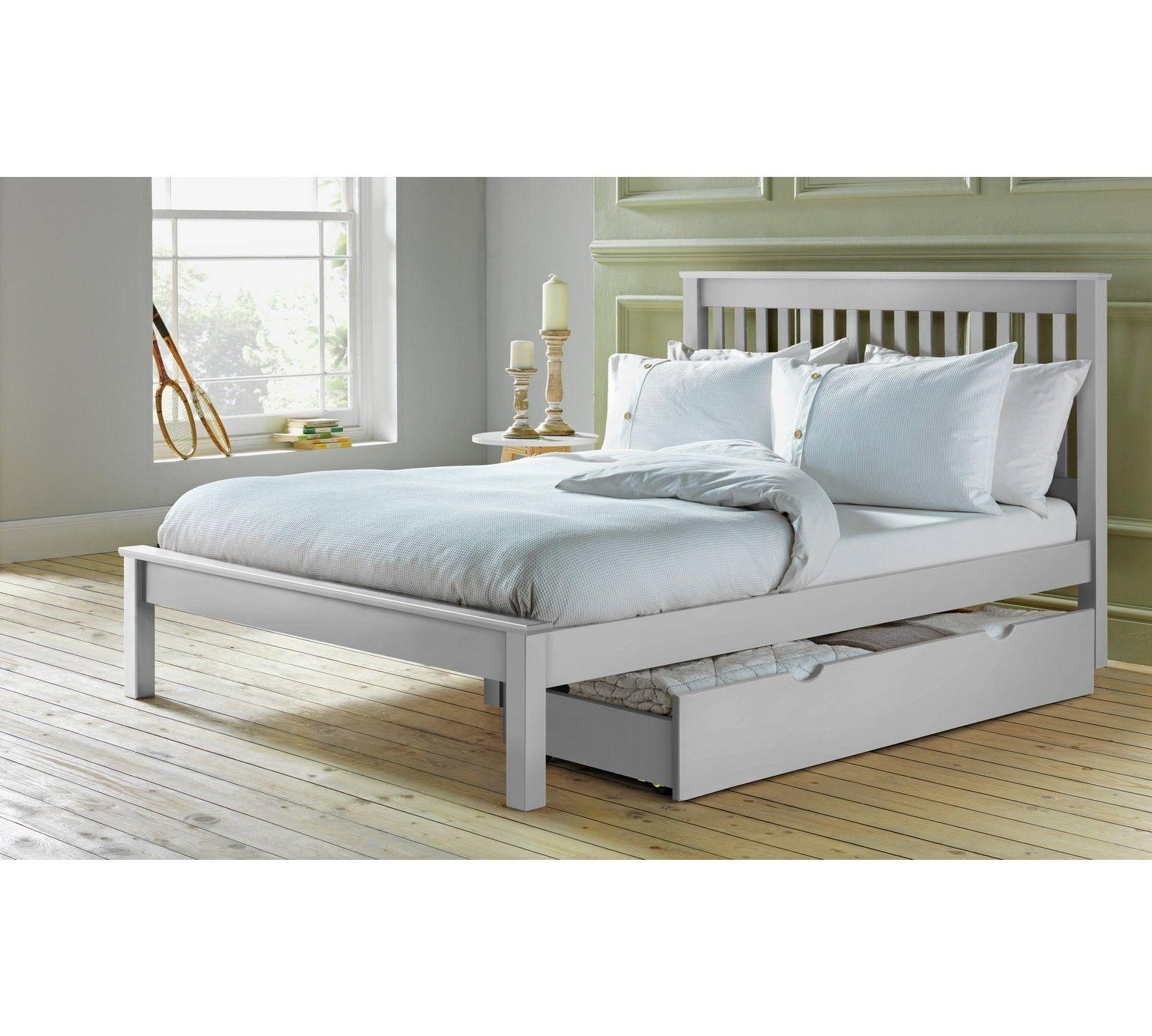 Argos Collection Aspley Double Bed Frame White White Bed Frame Double Bed Frame Bed Frame